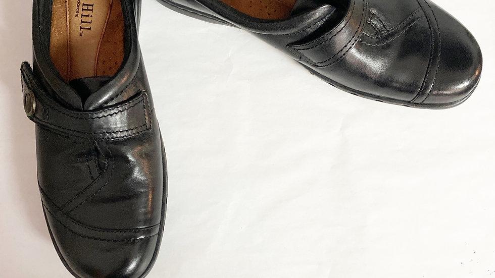 Cobb Hill Black Leather Loafer Size 10N