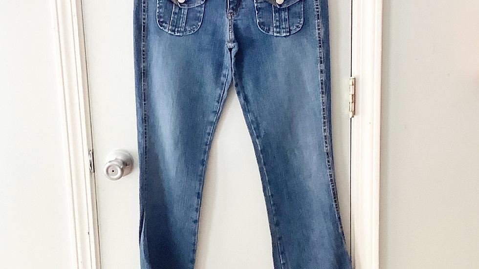 Levi's Superlow Front Flap Pocket Jeans Size 7