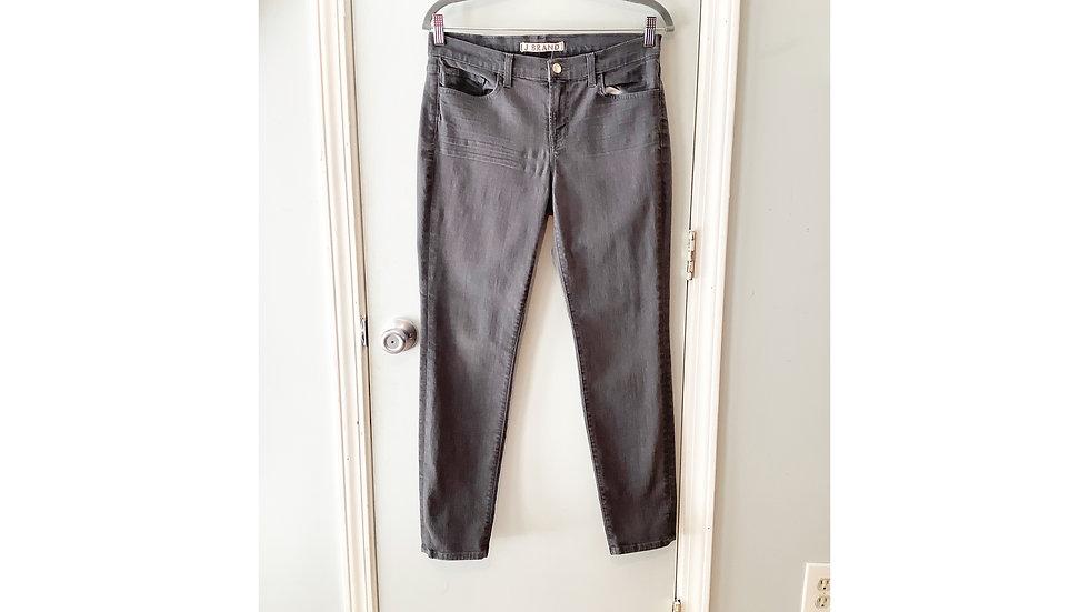 J Brand Gray Skinny Jeans Size 30