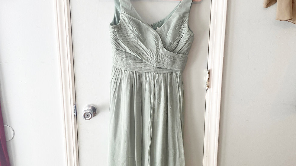 J. Crew 100% Silk Sage Dress Size 4
