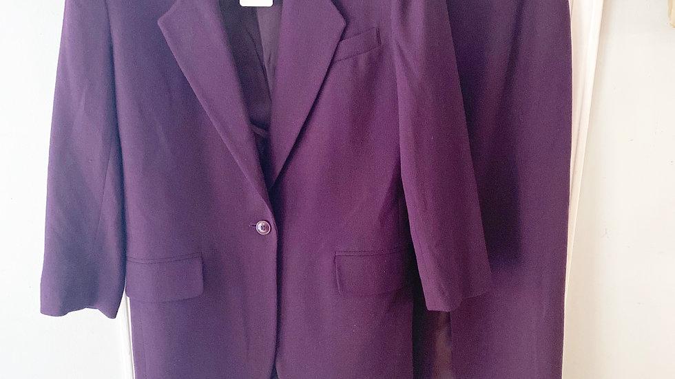 Jones New York100% Wool Suit Jacket:6 Skirt:4