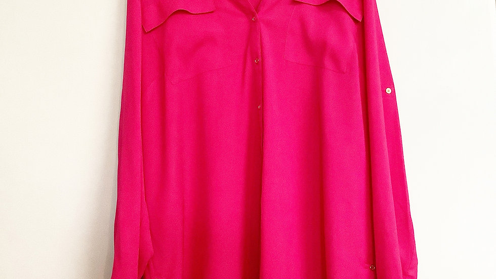 Calvin Klein Button Up Blouse Size 1X