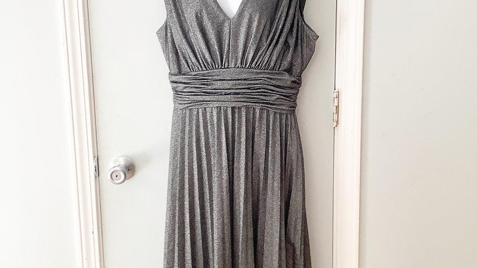 Willow Glenn New York Tea Length Mettallic Dress Size 12