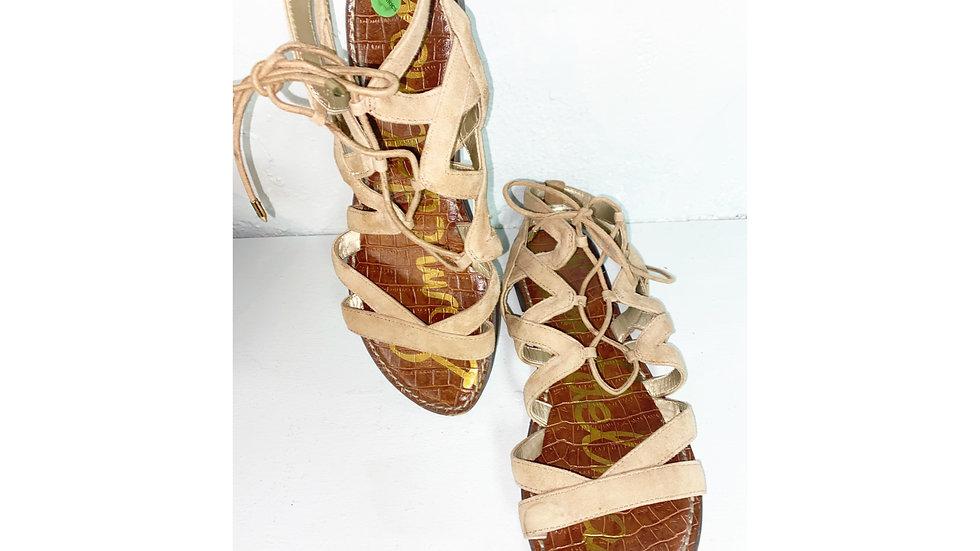 Sam Edelman Gladiator Sandal Size 8