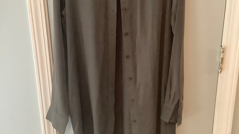 WAYF Olive Button Down Shirt Size XS