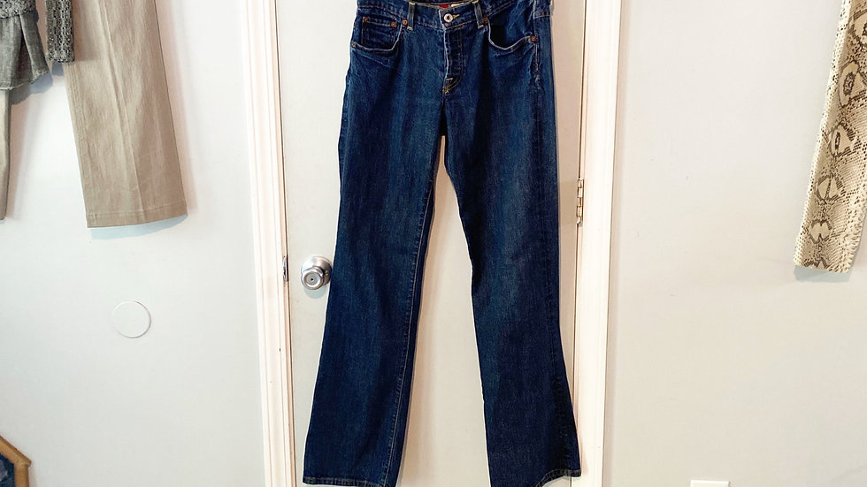 Easy Rider Boot Cut Button Fly Jeans Size 4