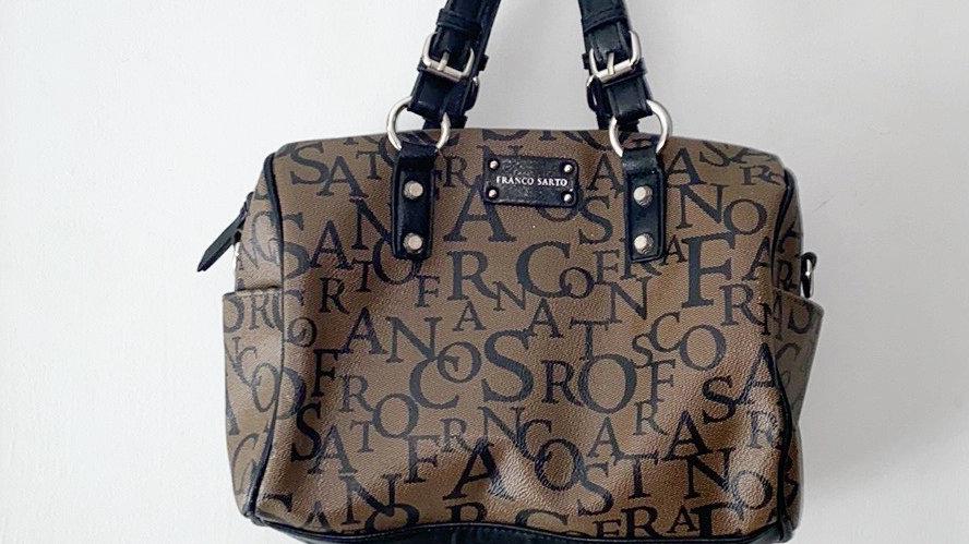 Franco Sarto Signature Barrel Bag