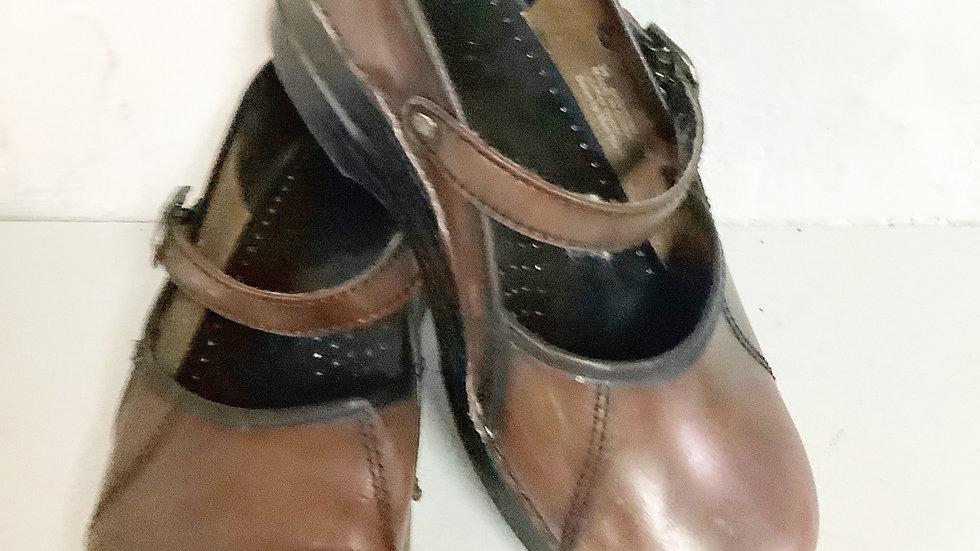 Dansko MaryJane  Leather Clog Size 36/6