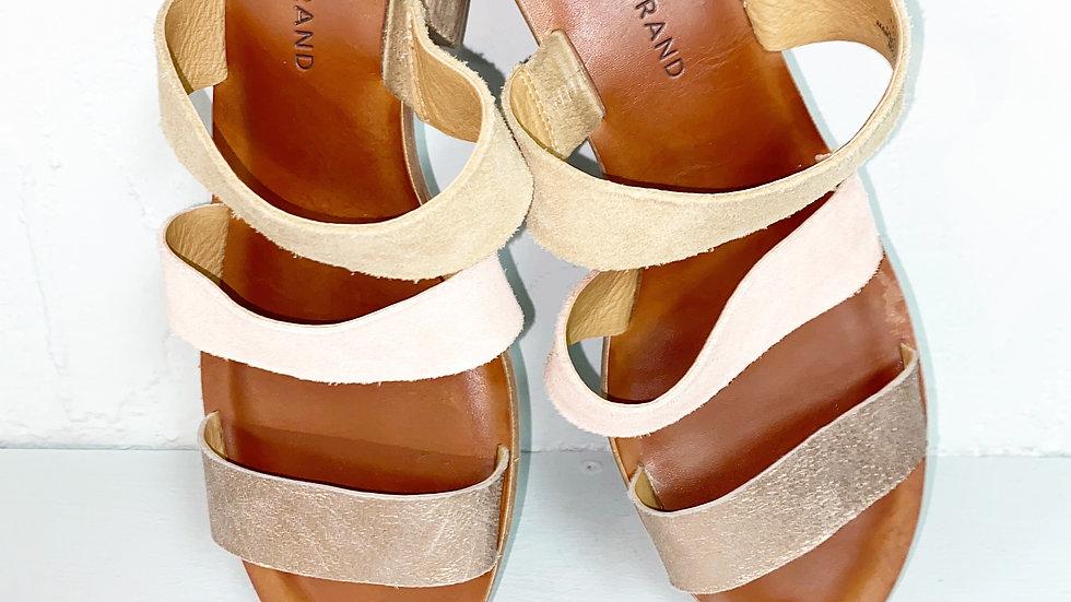 Lucky brand slide on sandals Rileigh2 size 10