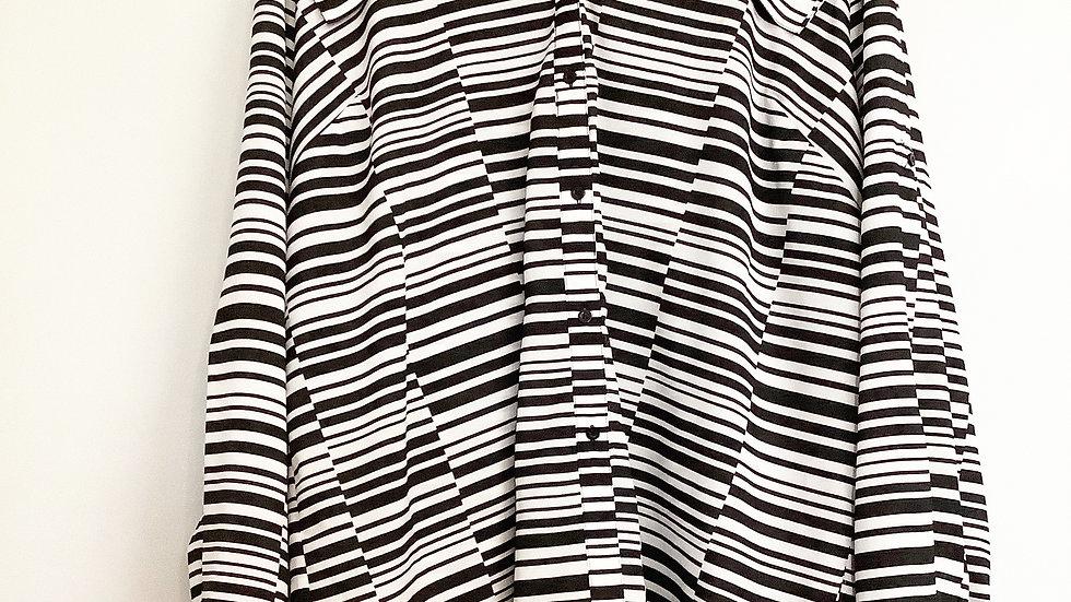 Calvin Klein Button Up Tunic Size 2X
