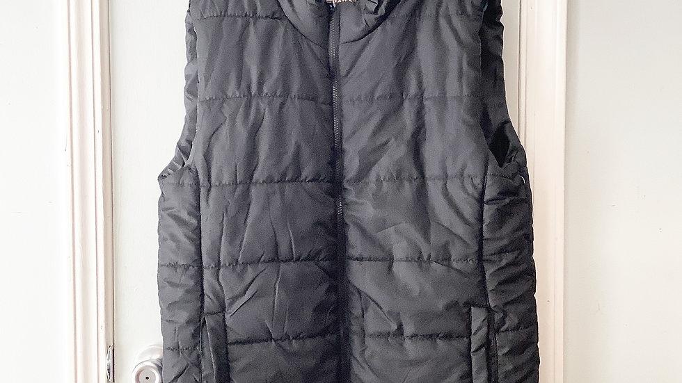 Open Trails Men's Black Puffer Vest Size L