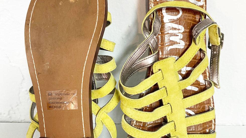 Sam Edelman Leather Hamilton Sandal Size 8