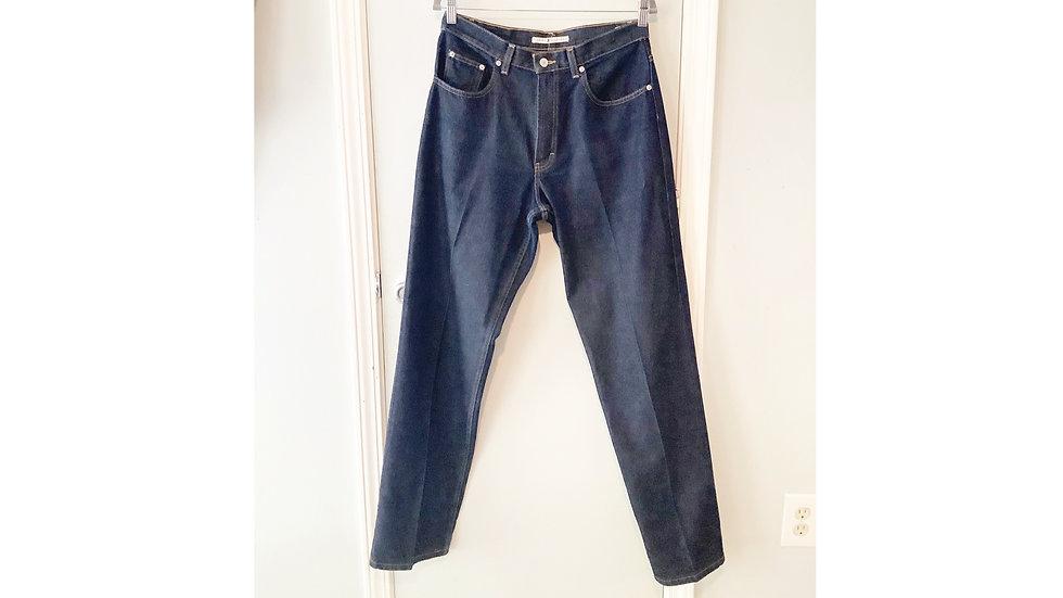 Vintage Tommy Hilfiger Dark Denim Straight Cut Jeans Size 10