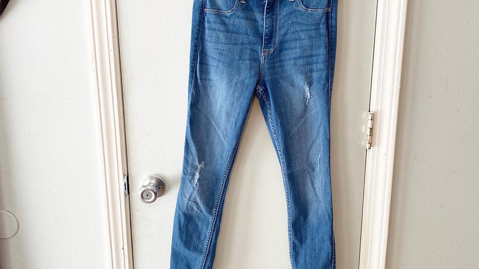 Hollister High-Rise Jean Legging Size 3S