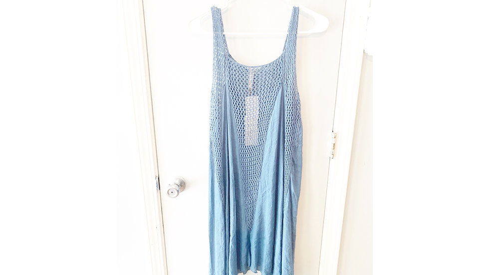 NEW Elan Blue Dress Cover Up Size M