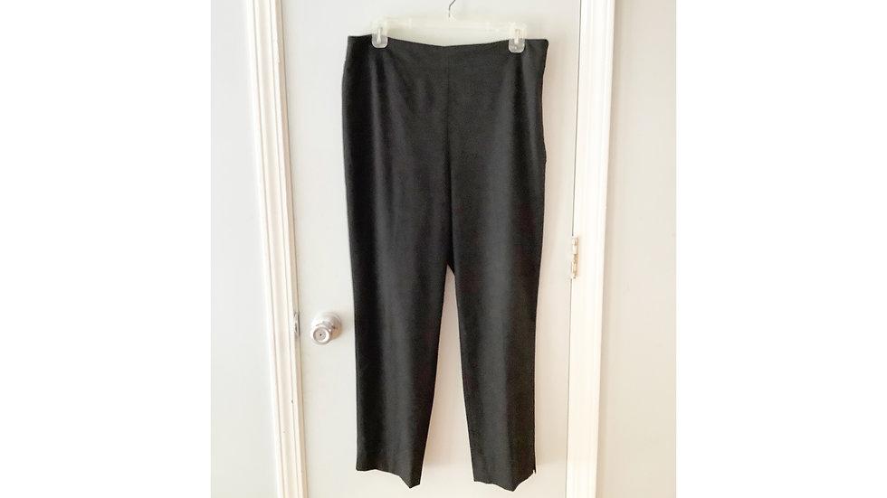 Talbot's Black Career Pant Size 12P