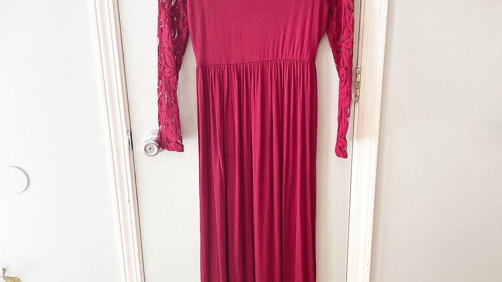Pink Blush Maxi Dress Size Small