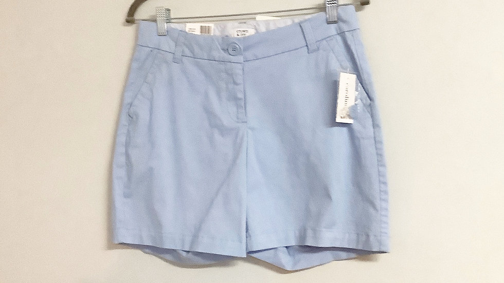 NEW Crown & Ivy Blue Wonka Shorts Size 2
