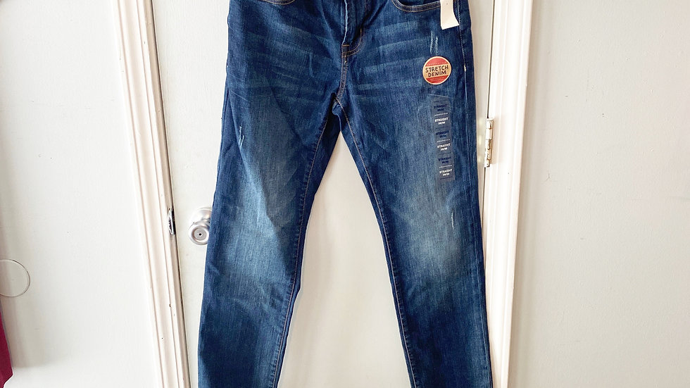 NEW Aeropostale Straight Stretch Denim Jean Size 28