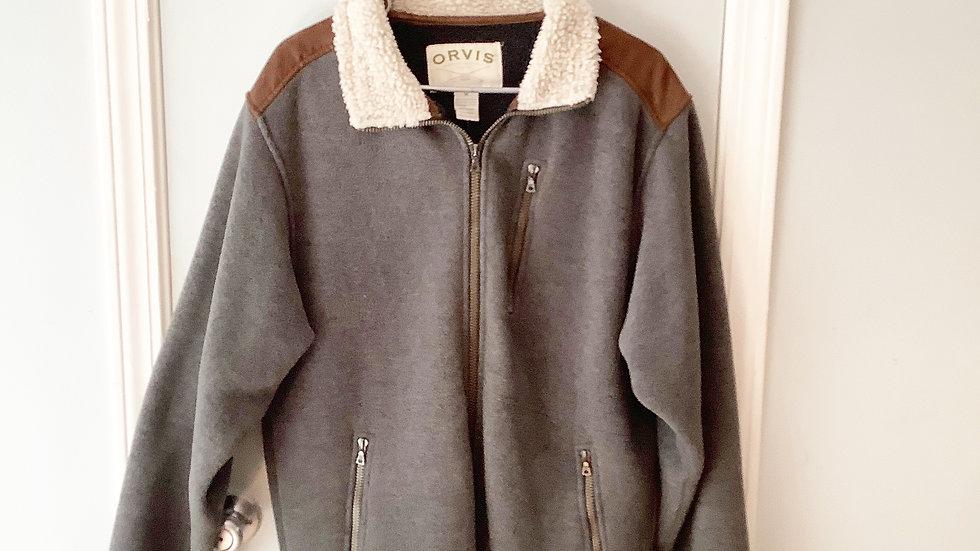 Orvis Fleece Lined Jacket Size M