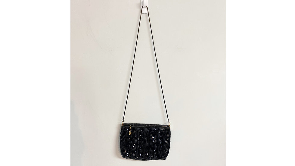 Twilight Collection Beaded Bag w/Chain Strap
