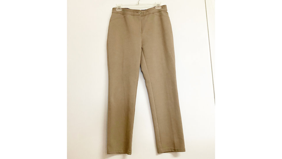 Chico's Taupe Pants Size 4S