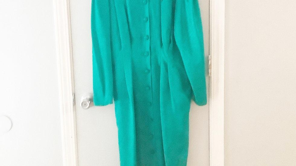 Papell 100% Silk Dress Size 6P