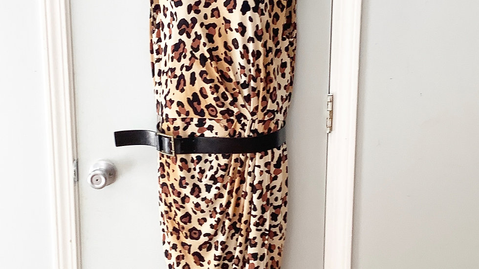 Marvin Richards Leopard Print Dress Size 4