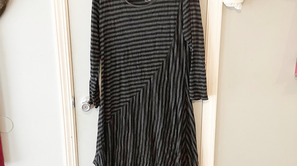 Pleats Collection Artsy Boho Tunic for Layering Size M