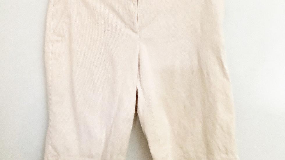 Tommy Hilfiger Women's Tan Striped Shorts Size 14