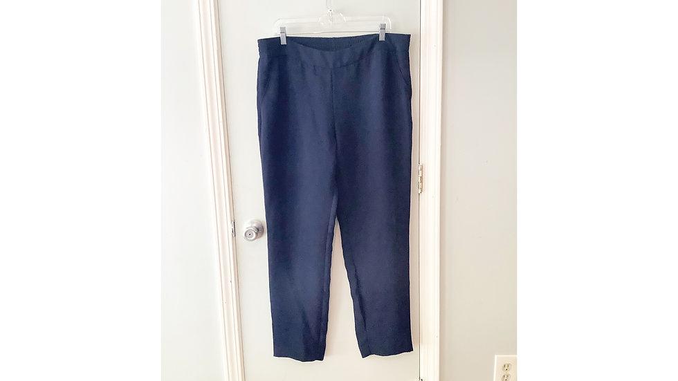 CAbi Navy Dress Pant Size 14
