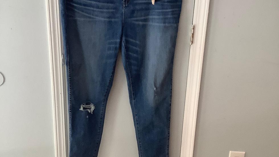 NEW Madewell Curvy High-Rise Skinny Size 36TL