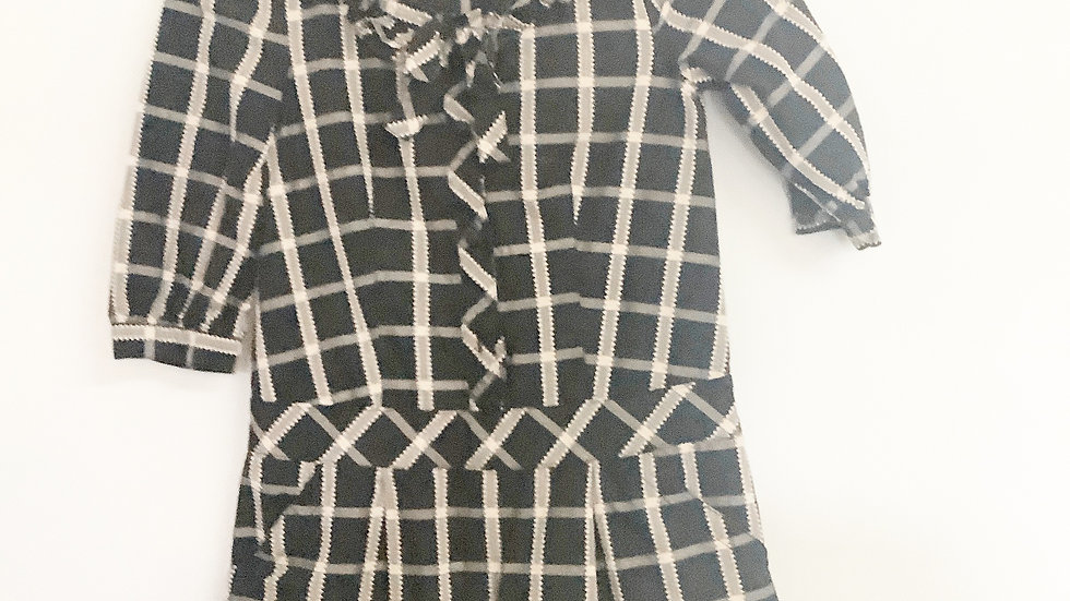 Juicy Couture Plaid Blouse Size 7