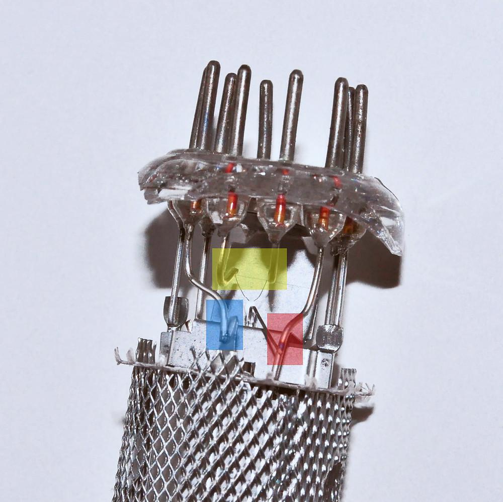 EF86 electrodes