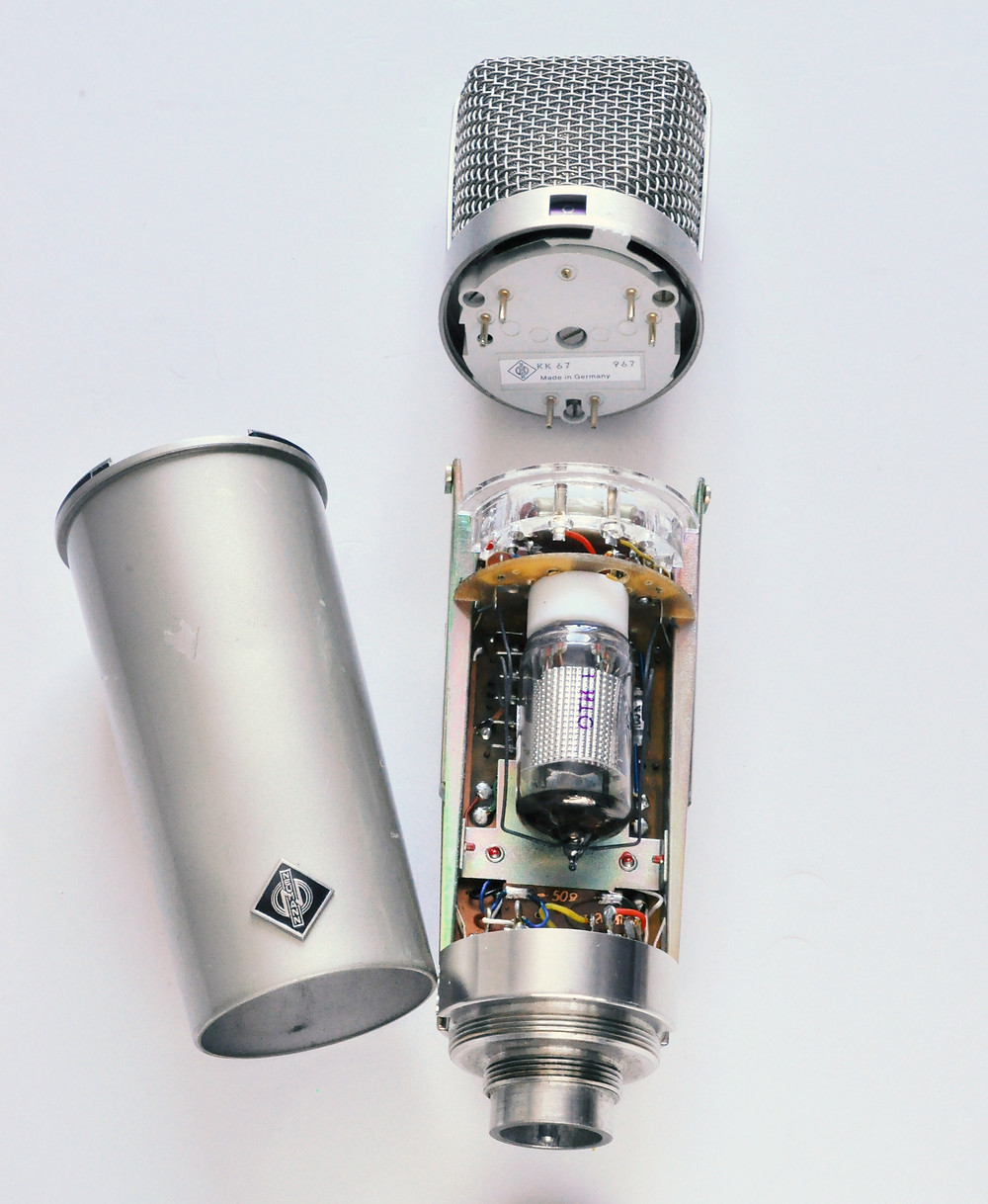 Partially dismantled Neumann U67