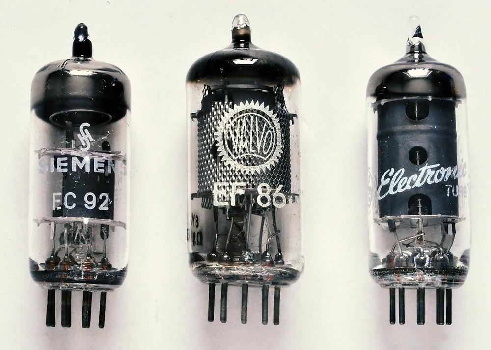 Famous microphone tubes: EC92, EF86, 6AU6