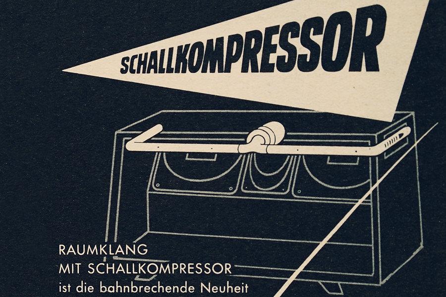 Schallkompressor