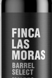 Vino Tinto Finca las Moras Barrel Select Malbec 2018 750 ML