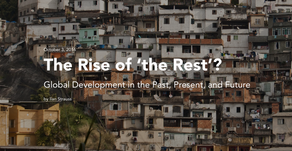 The Rise of the Rest? A shameless plug