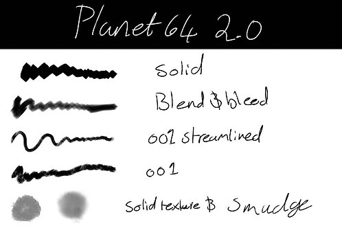 Planet64 2.0 Brushes