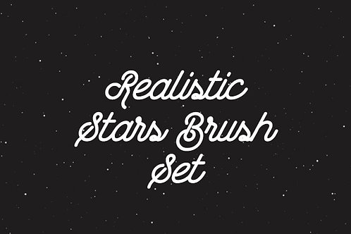 Realistic Stars Brush Set 2.1