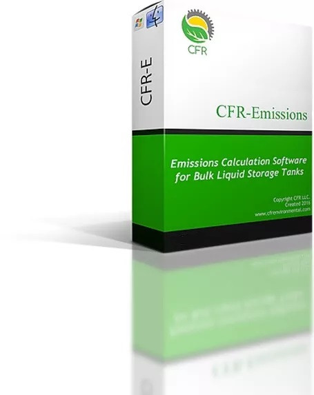 CFR-Emissions: The most affordable, full capability storage tank emissions software on the market