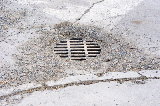 Preventing Solids in Storm Drains