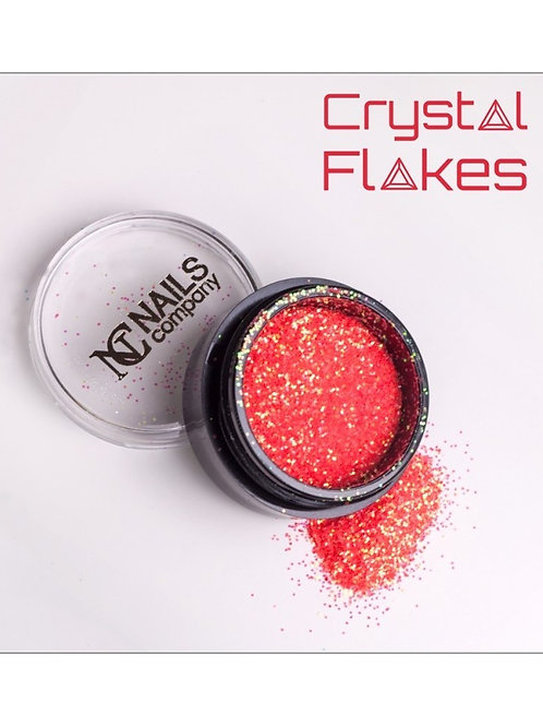 Crystal Flakes - Neon Coral