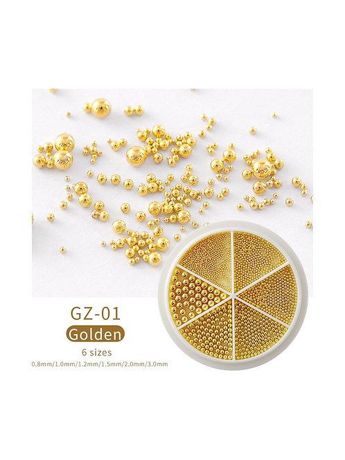 Roue caviar - Golden
