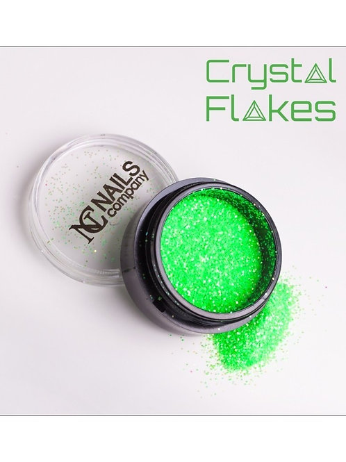 Crystal Flakes - Neon Green