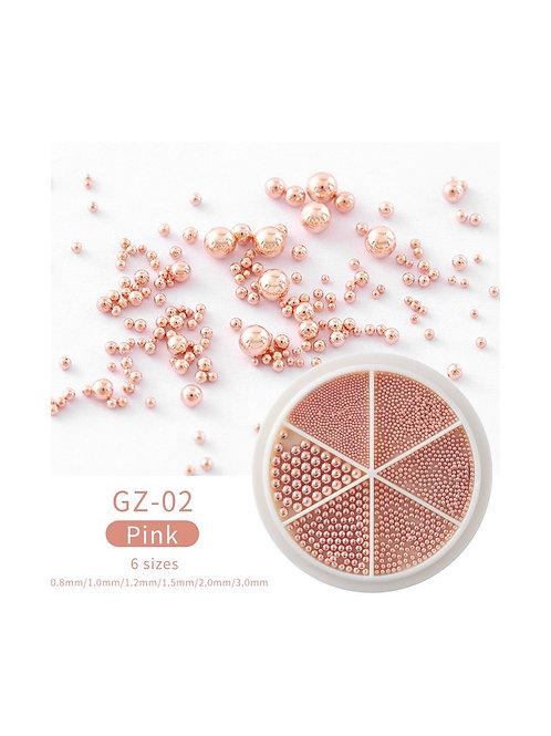 Roue caviar - Pink