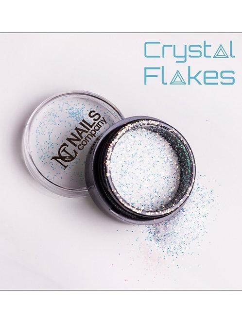 Crystal Flakes - Opal Green