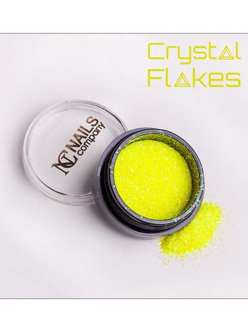 Crystal Flakes - Neon Yellow