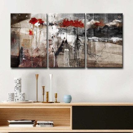 Ready2HangArt-'Abstract'-Multi-panel-Can